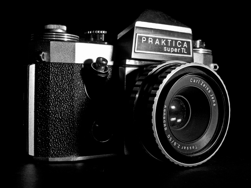 Vintage Praktica Super TL Camera
