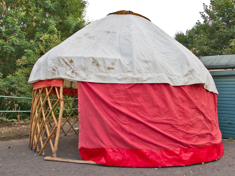 Building and Photographing a Yurt