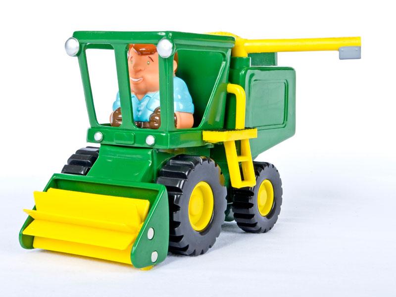 John Deerie toy combine harvestor