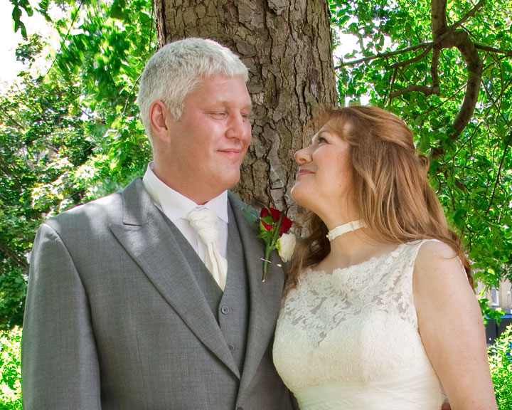 Rod and Heathers Wedding Photograph