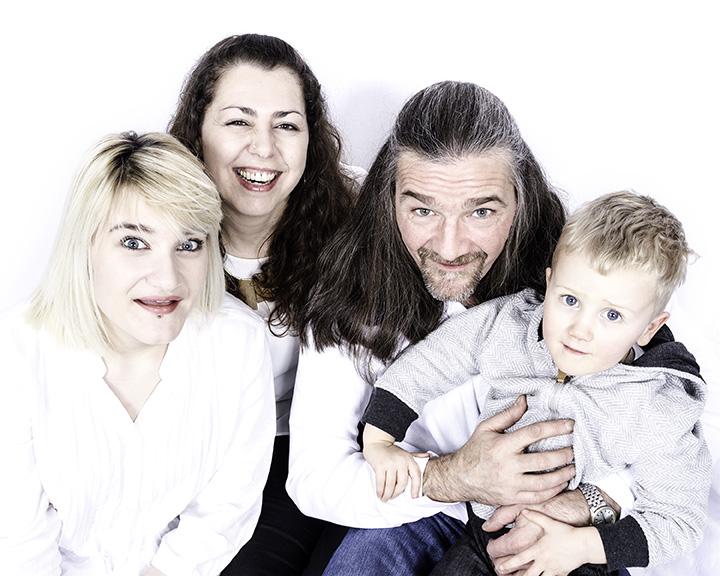 The McLaren Family Photo Shoot