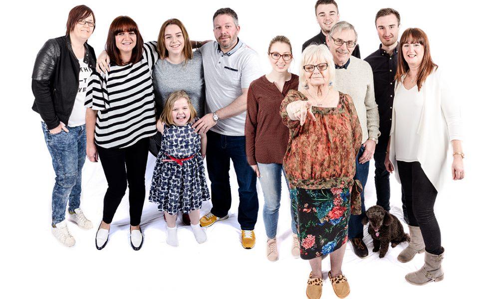 Easter Family Photo Shoot