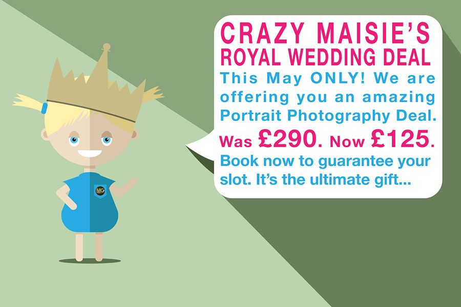 Royal Wedding Portrait Photography Deal
